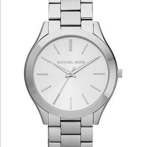 Michael Kors Unisex Slim Stainless Watch
